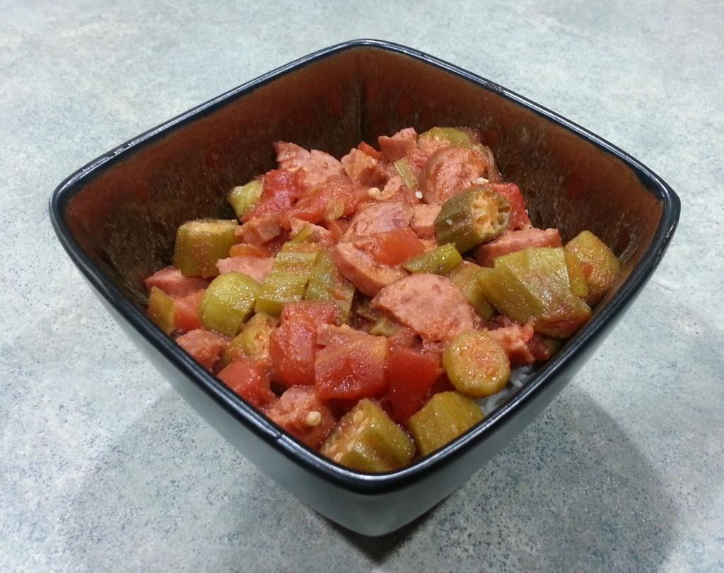 Spicy Okra Tomato