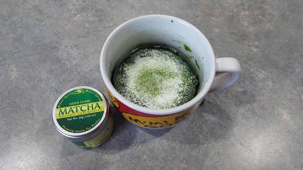 Matcha Mug Cake