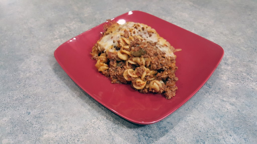 Beef Rotini Casserole