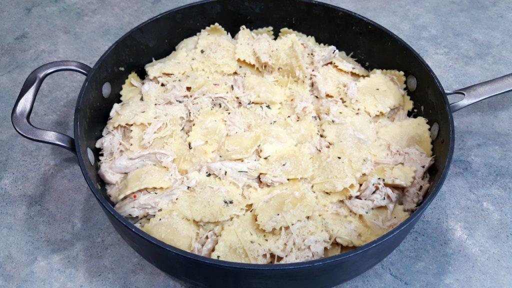 Zesty Chicken and Ravioli
