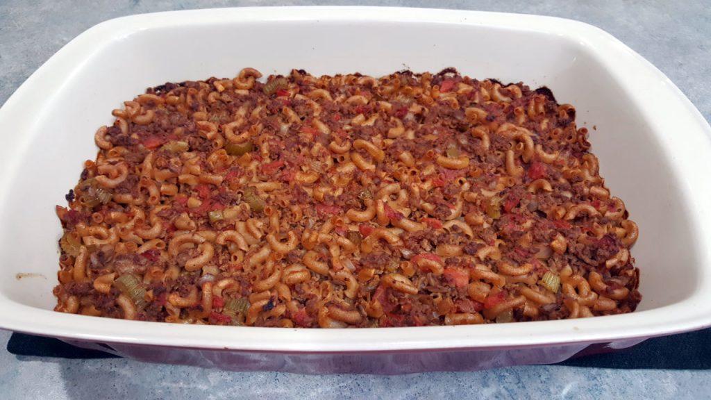 Macaroni and Tomato Casserole