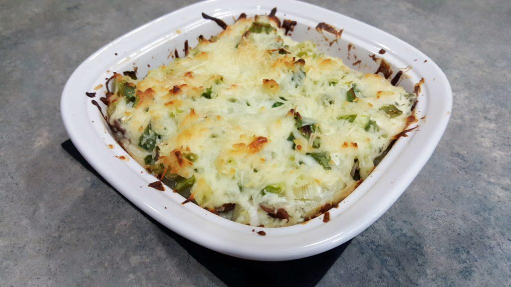 Swiss Cheese and Potato Casserole